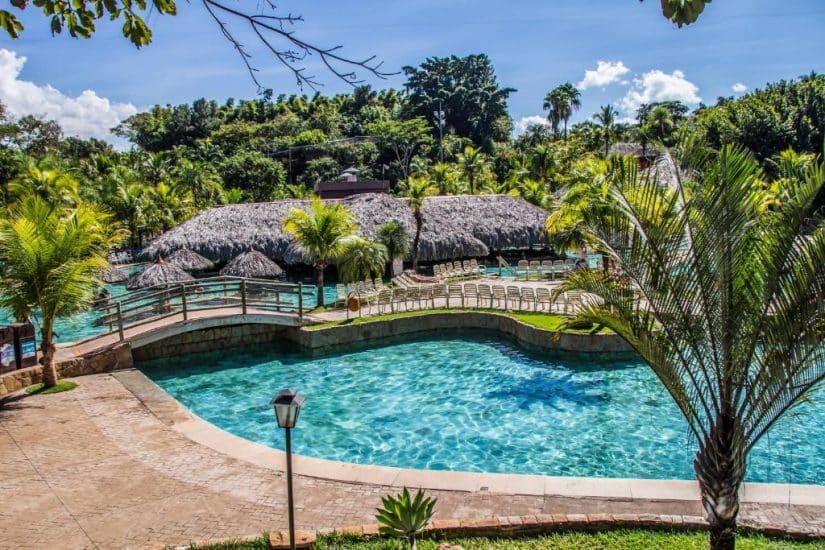 resort em caldas novas hot park